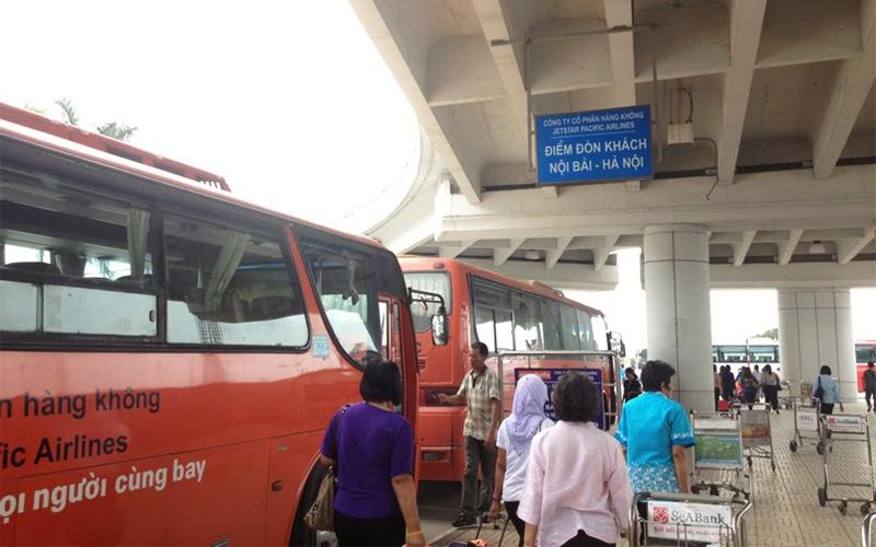 Mini bus sân bay Nội Bài (Nguồn ảnh: Internet)